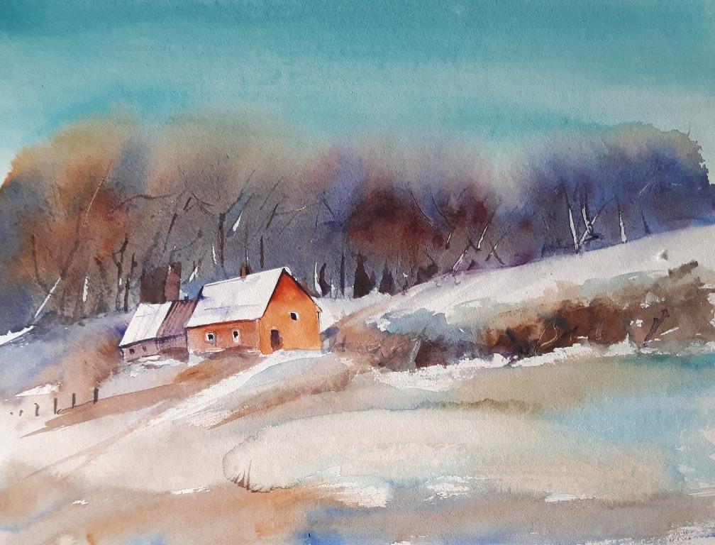 malerische Winterbilder