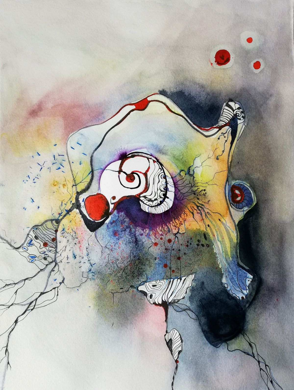 abstrakte Gemälde