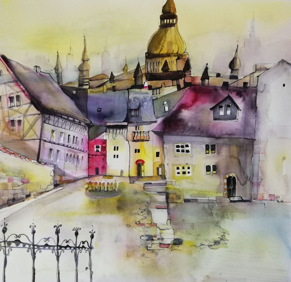 Stadtbild malerisch