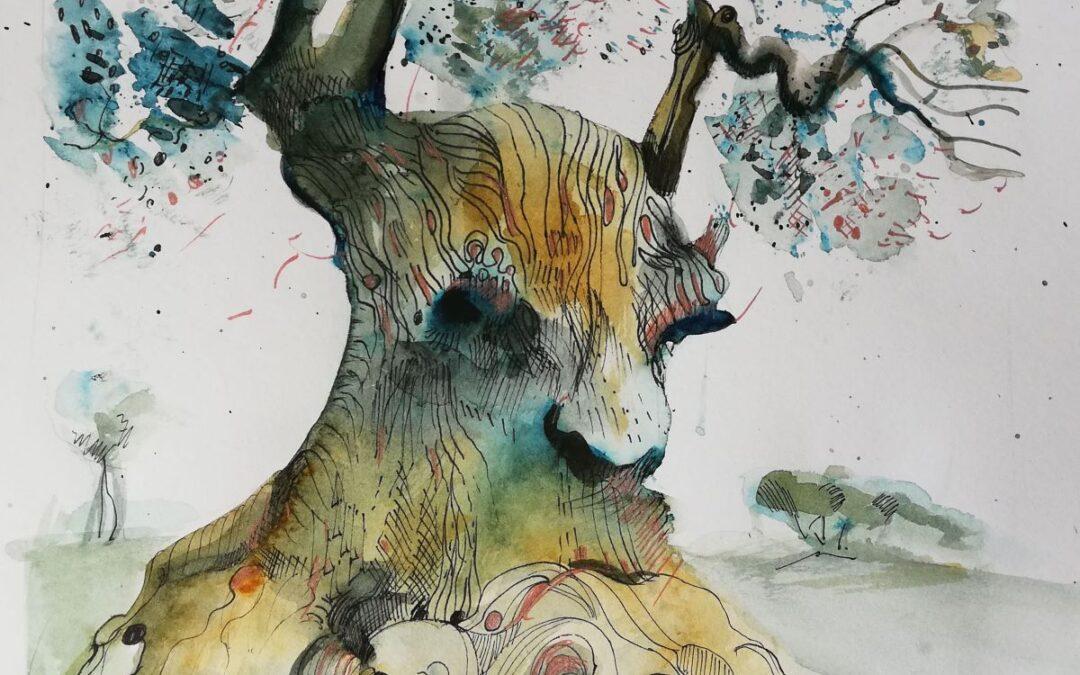 Geisterbaum Sketchbook