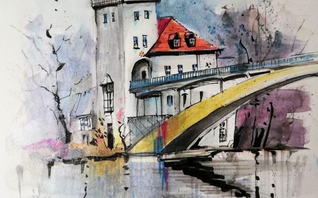 Berlin Sketch Winterzeit