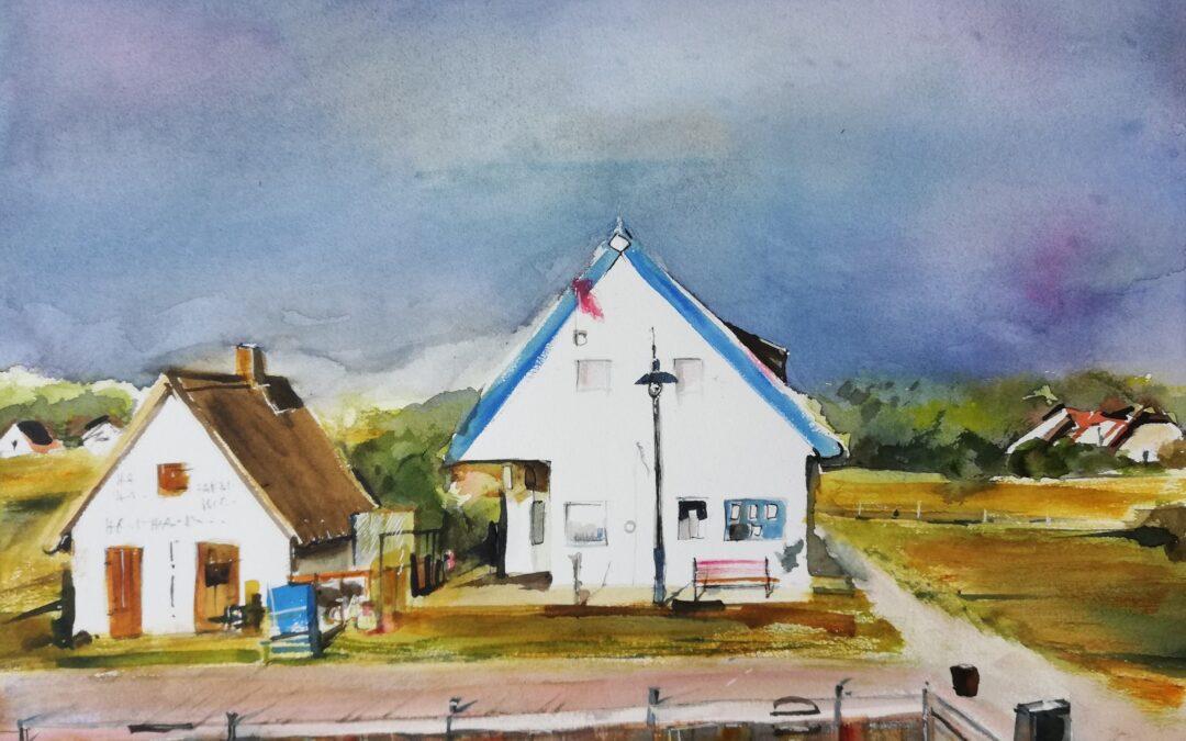 Dorf auf Hiddensee
