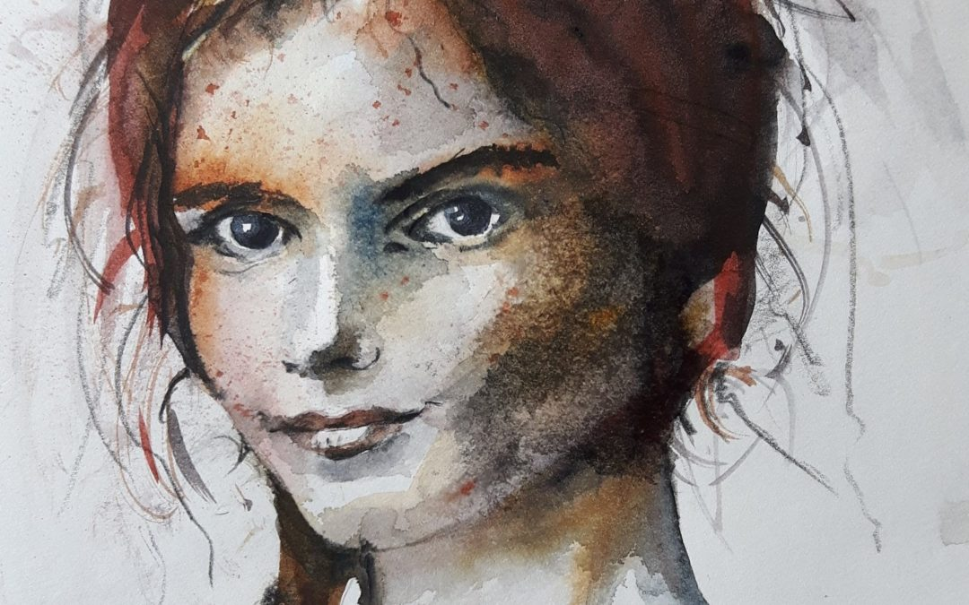 Aquarell Portrait